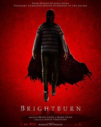 Brightburn poster.